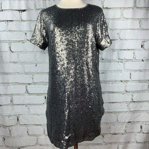 a.gain Sz.M sequins dress